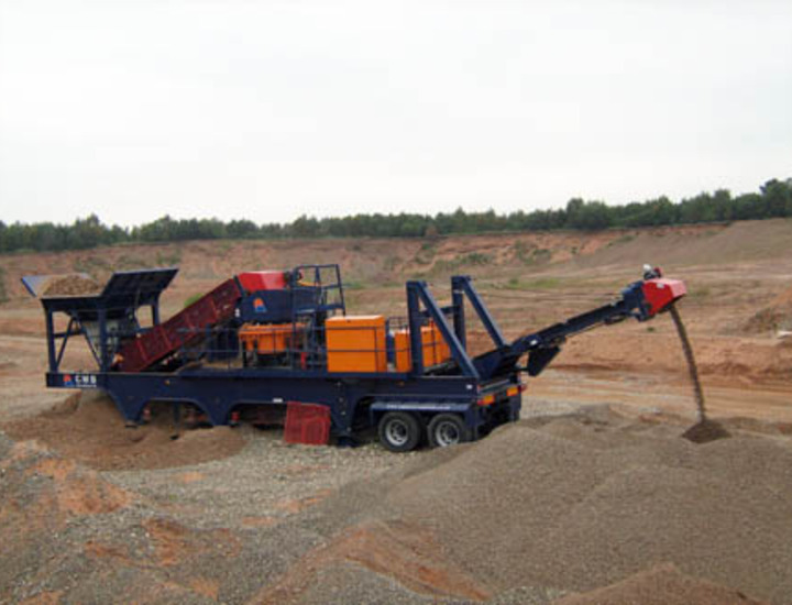 CMB BX100 Mobile Cone Crusher Plant