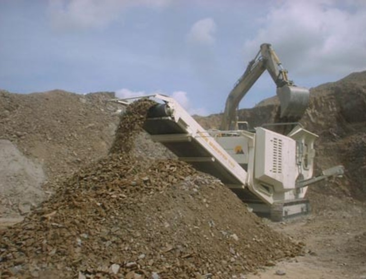 CMB Rockmonster T88  Mobile Tracked Jaw Crusher Plant