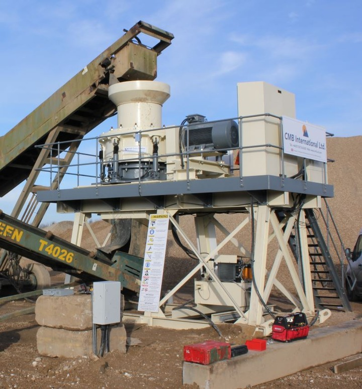 CMB International solves Yarrows Aggregates crushing problems