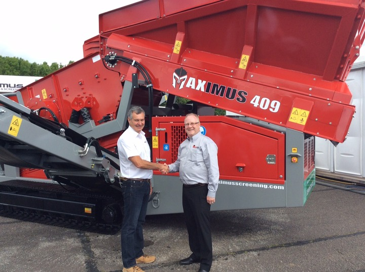 CMB International announces new partnership with Maximus Crushing & Screening