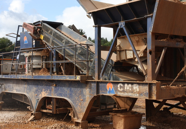 CMB upgrade the crushing efficiency at Calf Heath Quarry.